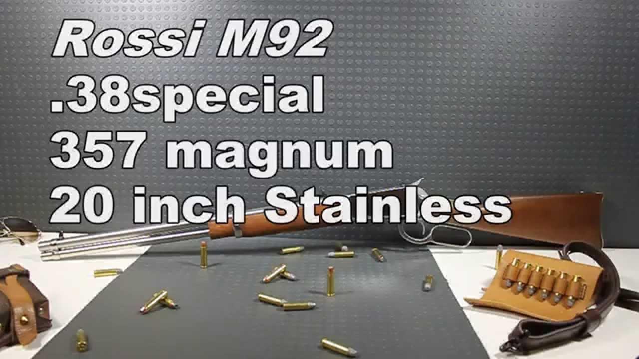 Rossi M92  .357 initial impressions