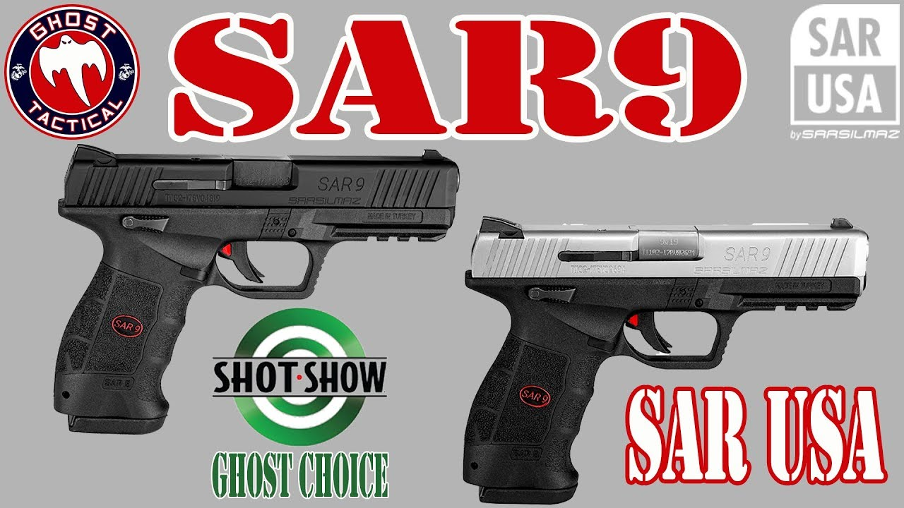 SAR USA:  SAR9 SHOT Show 2018 Review:  Ghost Tactical Productions