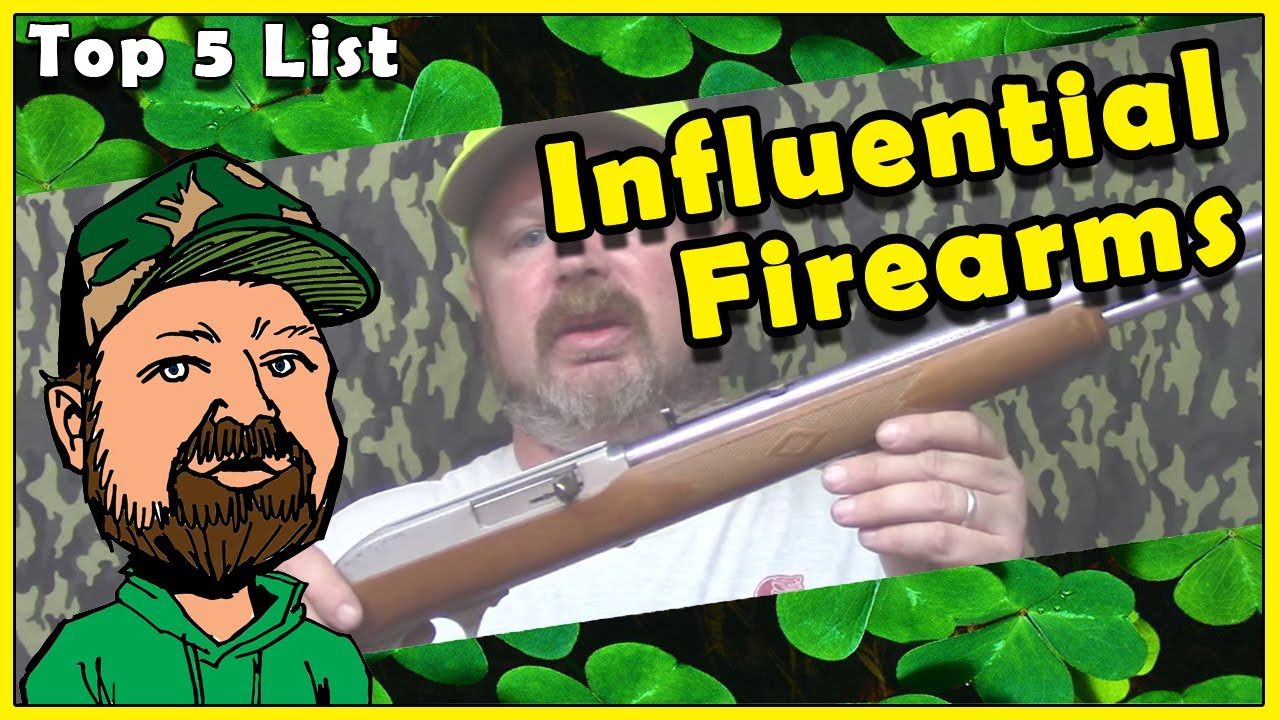 CloverTac Top 5 Influential Firearms Of My Youth -  Spoiler! A Glock Ain't One Of Them!