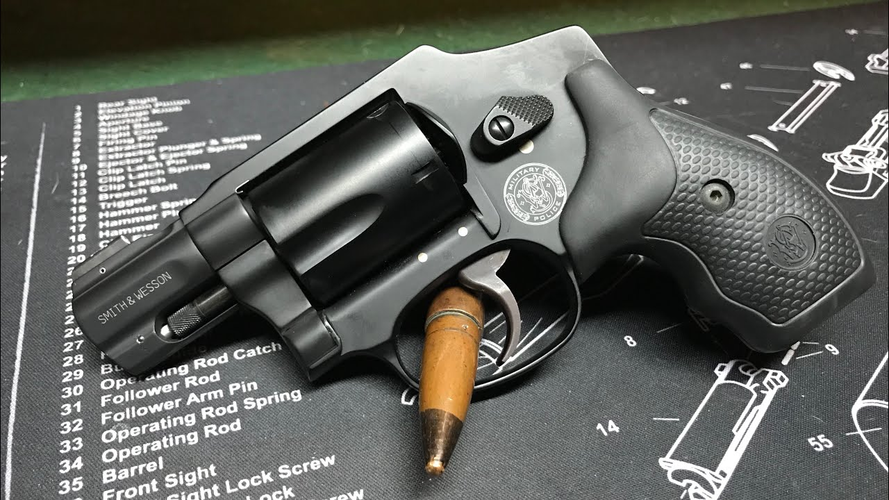 S&W M&P 340 .357 Magnum