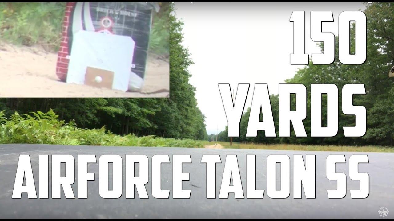 "AirForce Talon SS - ""Hole in One"" Shot - Air Gun Depot Long Ranger Contest / 150 Yards Gol"