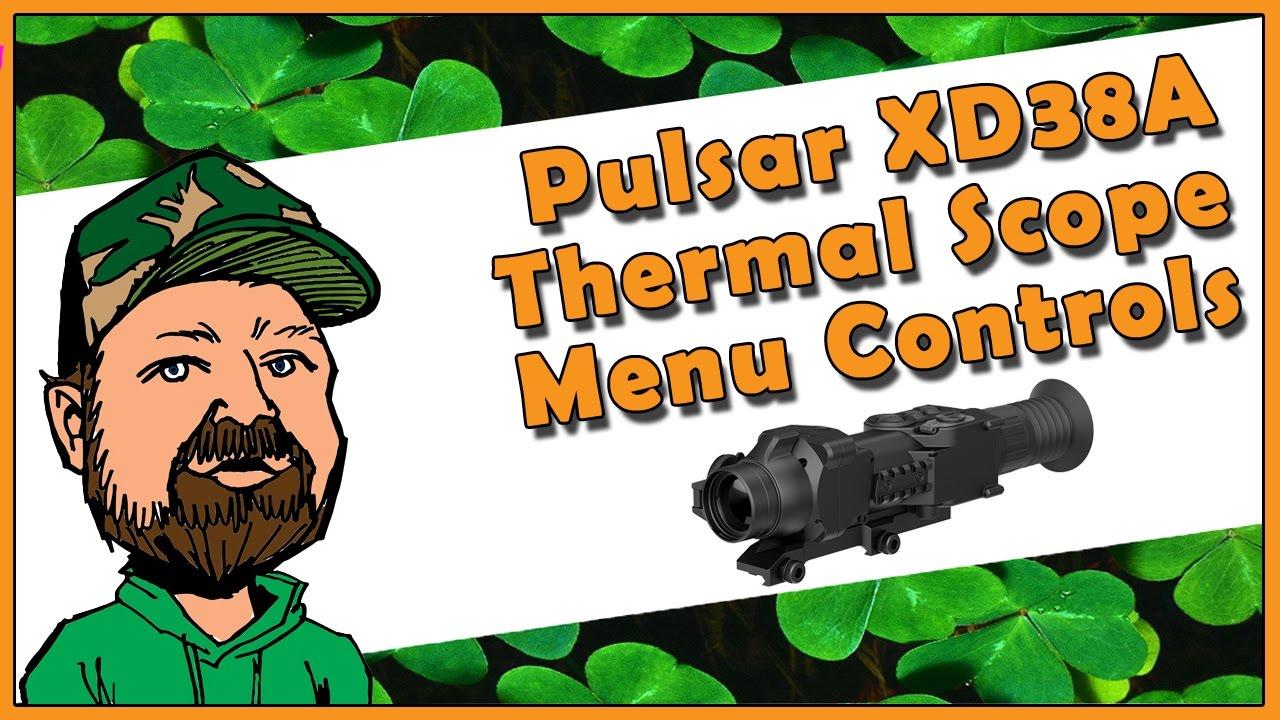 Pulsar Apex XD38A Digital Thermal Imaging Rifle Scope (Night Vision) - Full Menu Tutorial