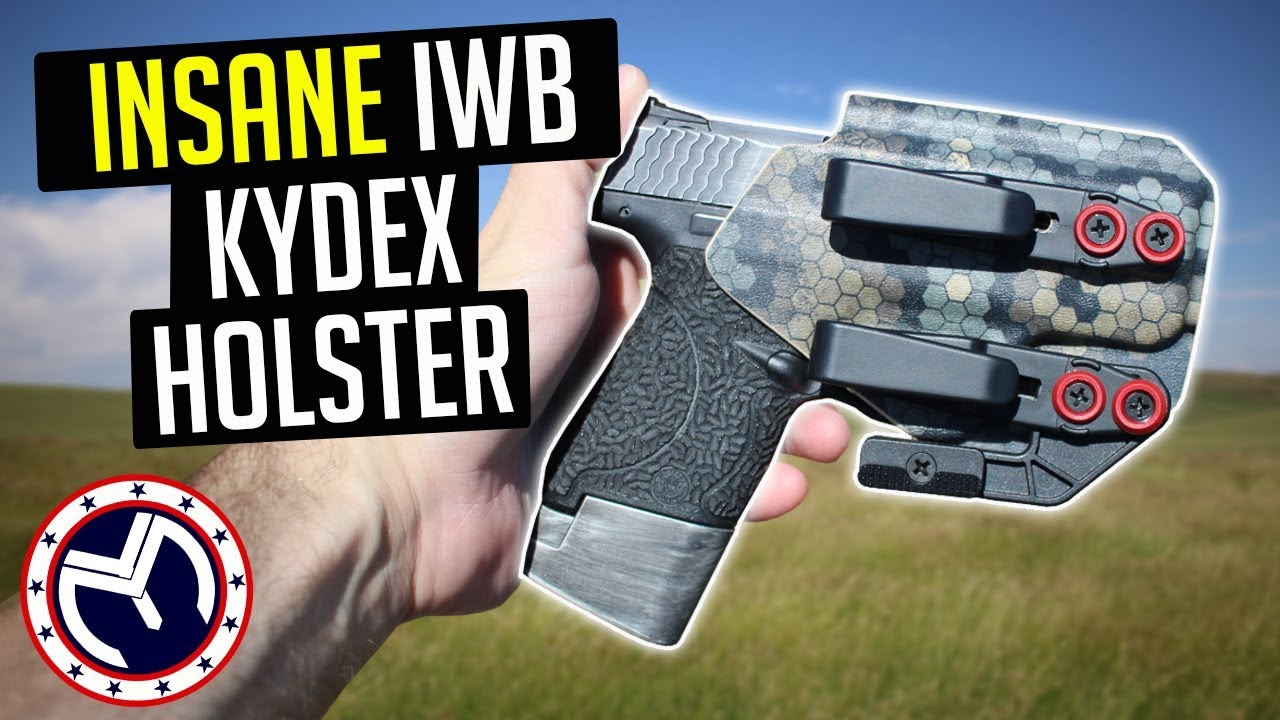 M&P Shield Appendix Carry Holster | 🔥Wingman Holsters IWB🔥