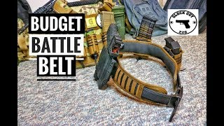 💥 BUDGET BATTLE BELT FROM WILDER TACTICAL💥