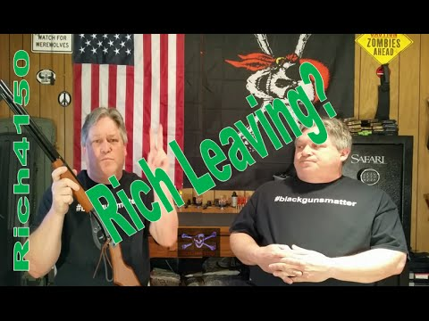 Is Rich leaving Rich4150?