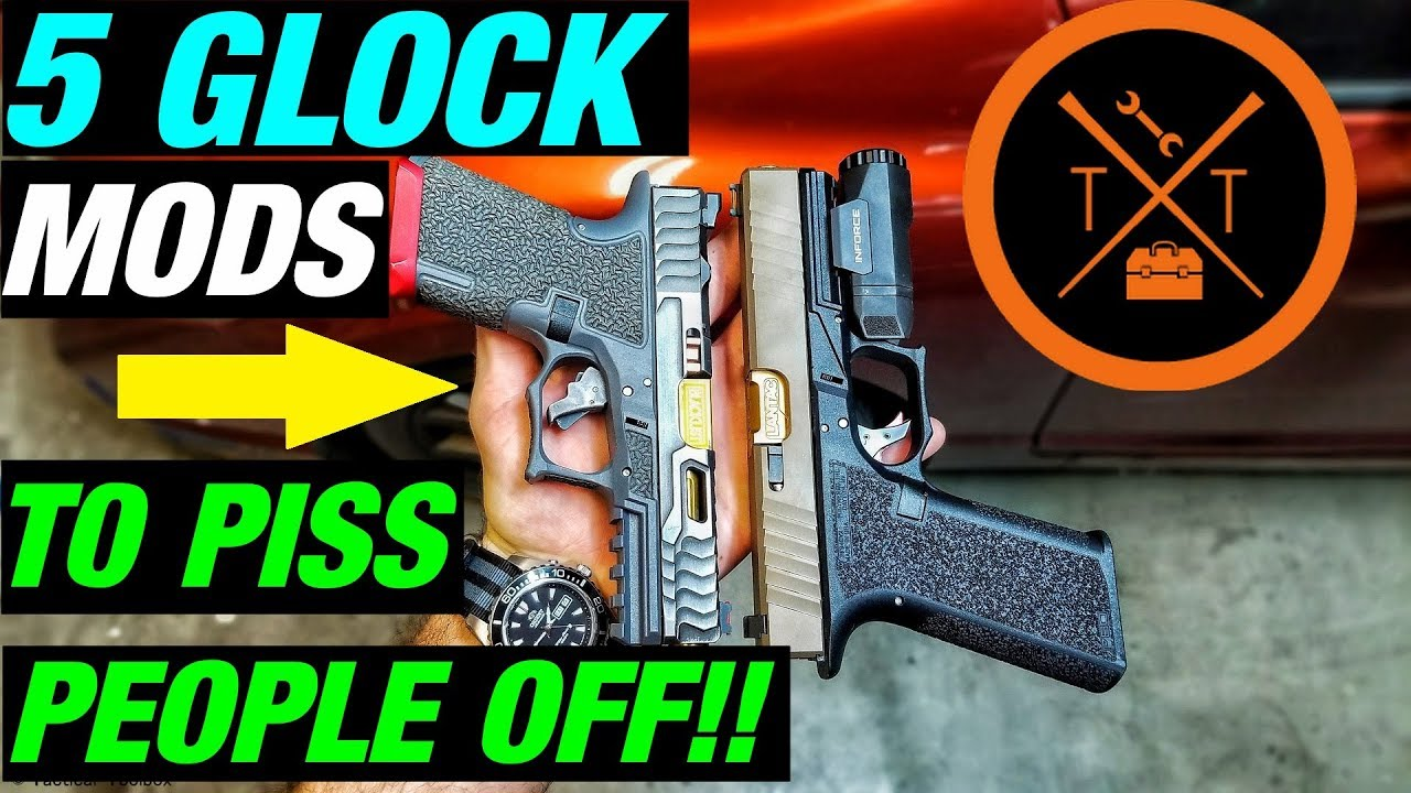 TOP 5 GLOCK MODS💥 That PISS PEOPLE OFF??