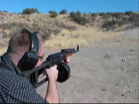 Shooting AK47 & AR15 Drum Magazines