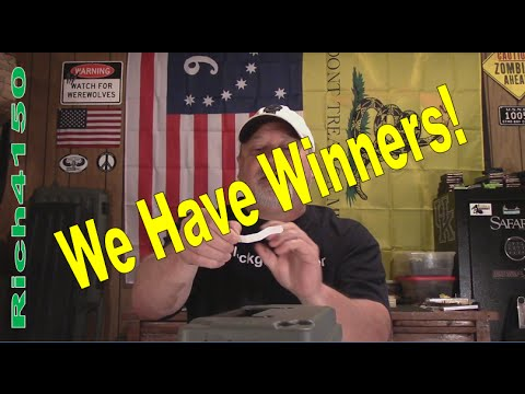 1071 SHTF Giveaway Winners Announcement!