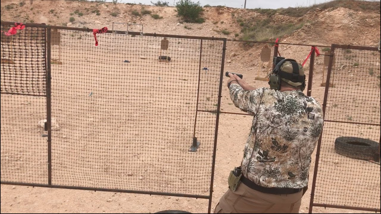West Texas Practical Shooters USPSA Match 6 24 17 at 41 Lead Farm