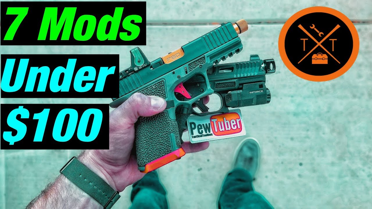 Top 7 Glock Mods Under $100 // ...(w/ Links & Codes)