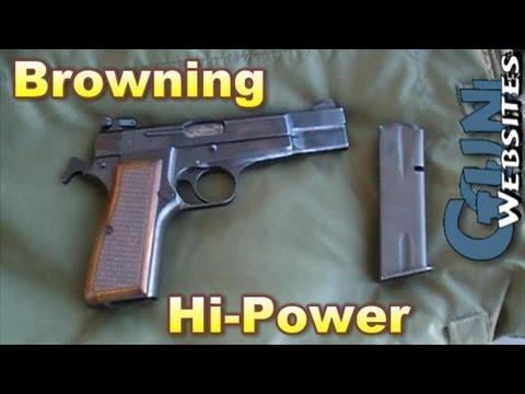 Shooting Browning Hi-Power 9mm Pistol