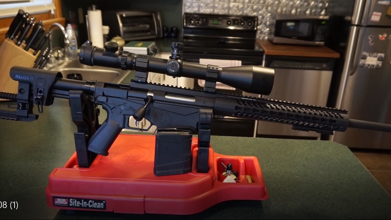 Ruger Precision .308 Win. Rifle basic cleaning!