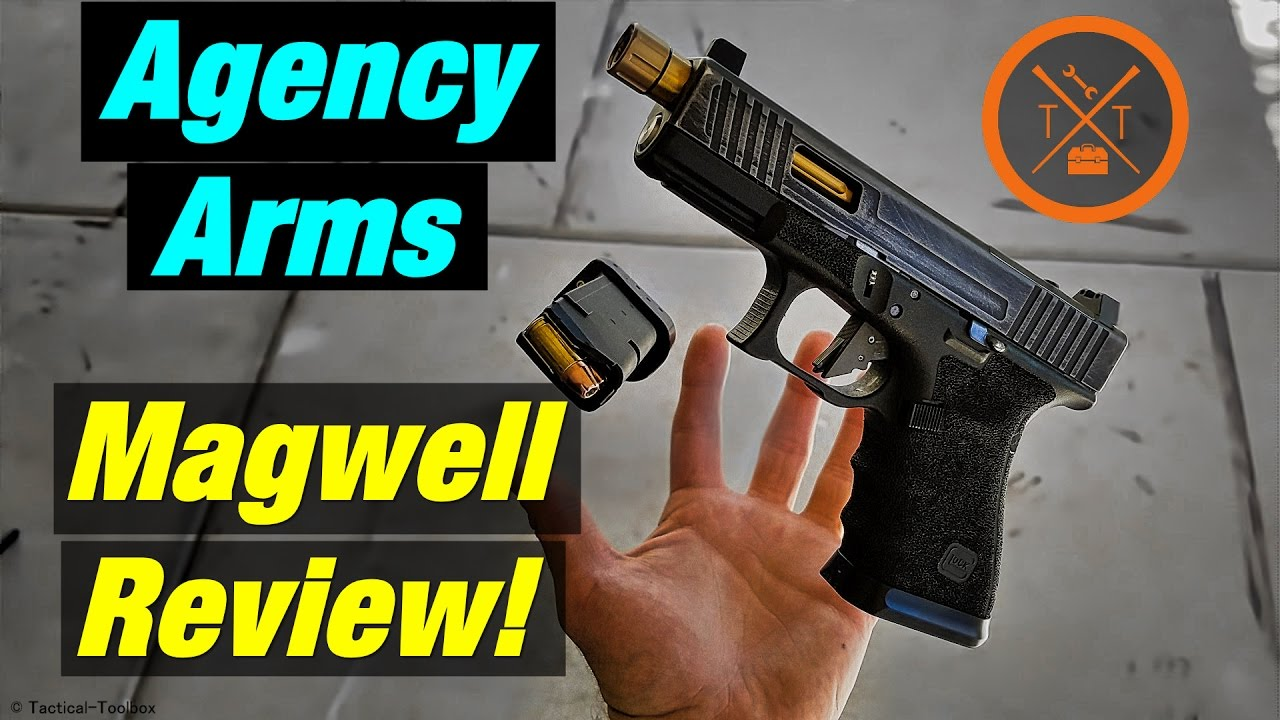 Agency Arms Magwell Review // Custom Glock 19!
