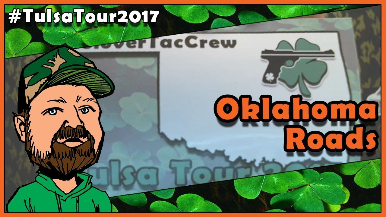 Oklahoma Roads - The CloverTac Tulsa Tour 2017 Is Underway