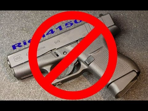 The new glock g43 gen 5 is dumb