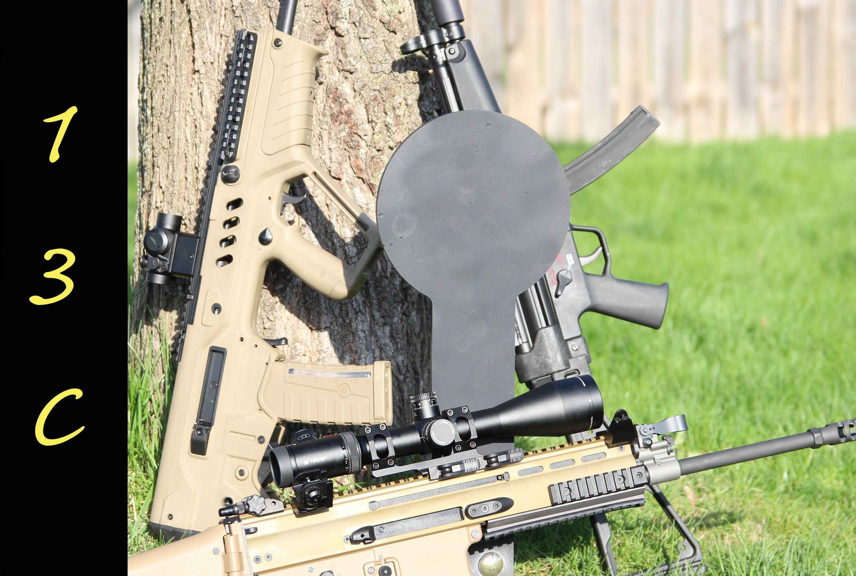 Shooting Steel: Stake and Shoot target from Challenge Targets Stake-N-Shoot