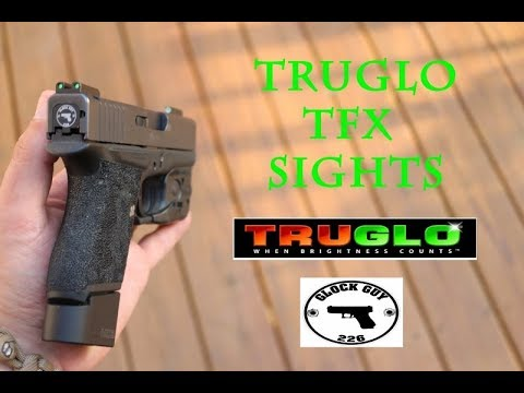 TRUGLO TFX! BEST NIGHT SIGHTS ON THE MARKET