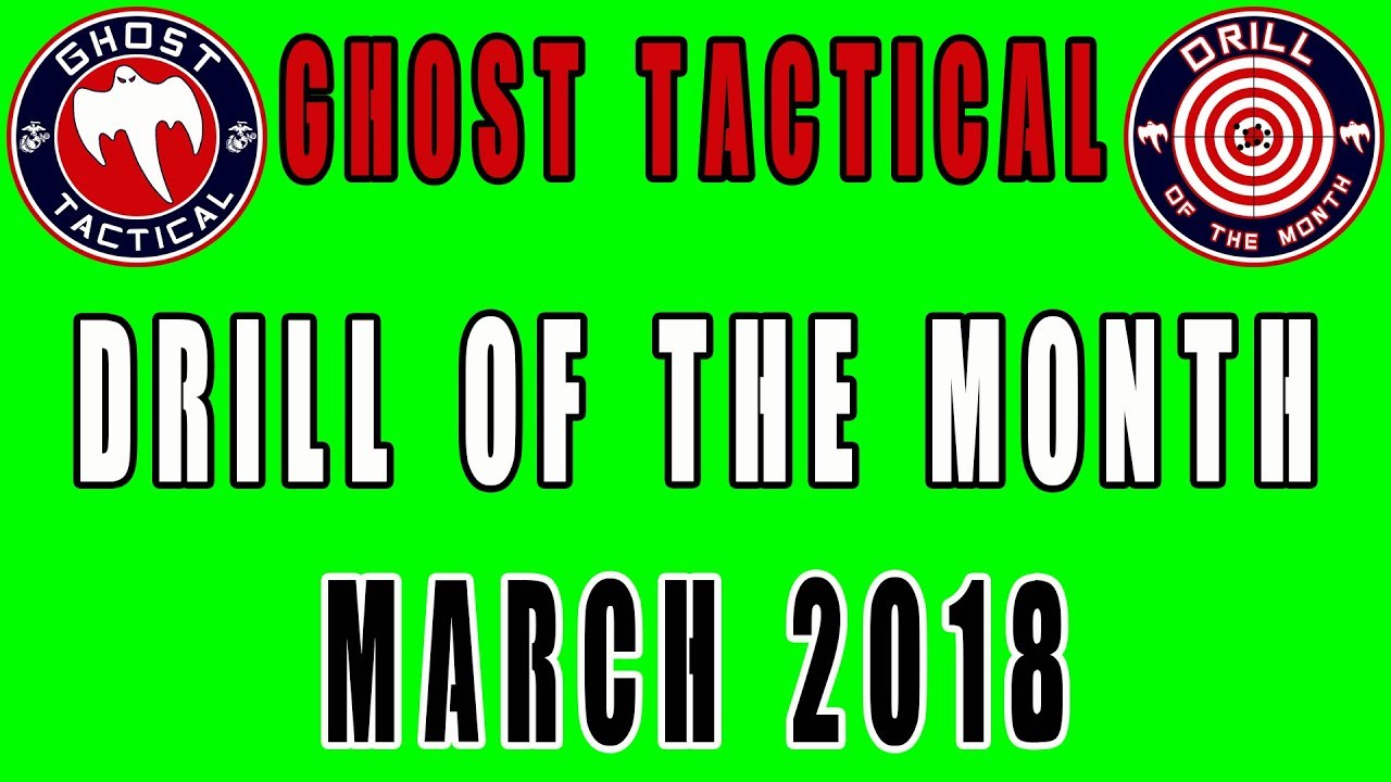 Ghost Tactical Drill of the Month:  March 2018:  Crazy 8's