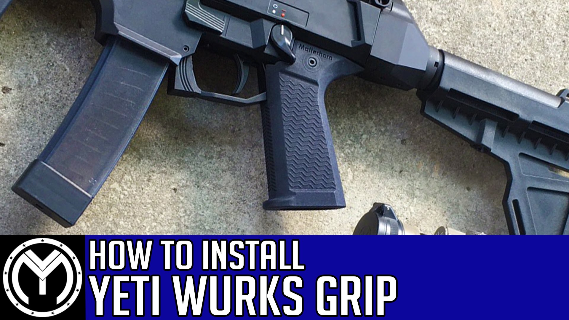 CZ Scorpion Evo | How to Install Yeti Wurks Pistol Grip