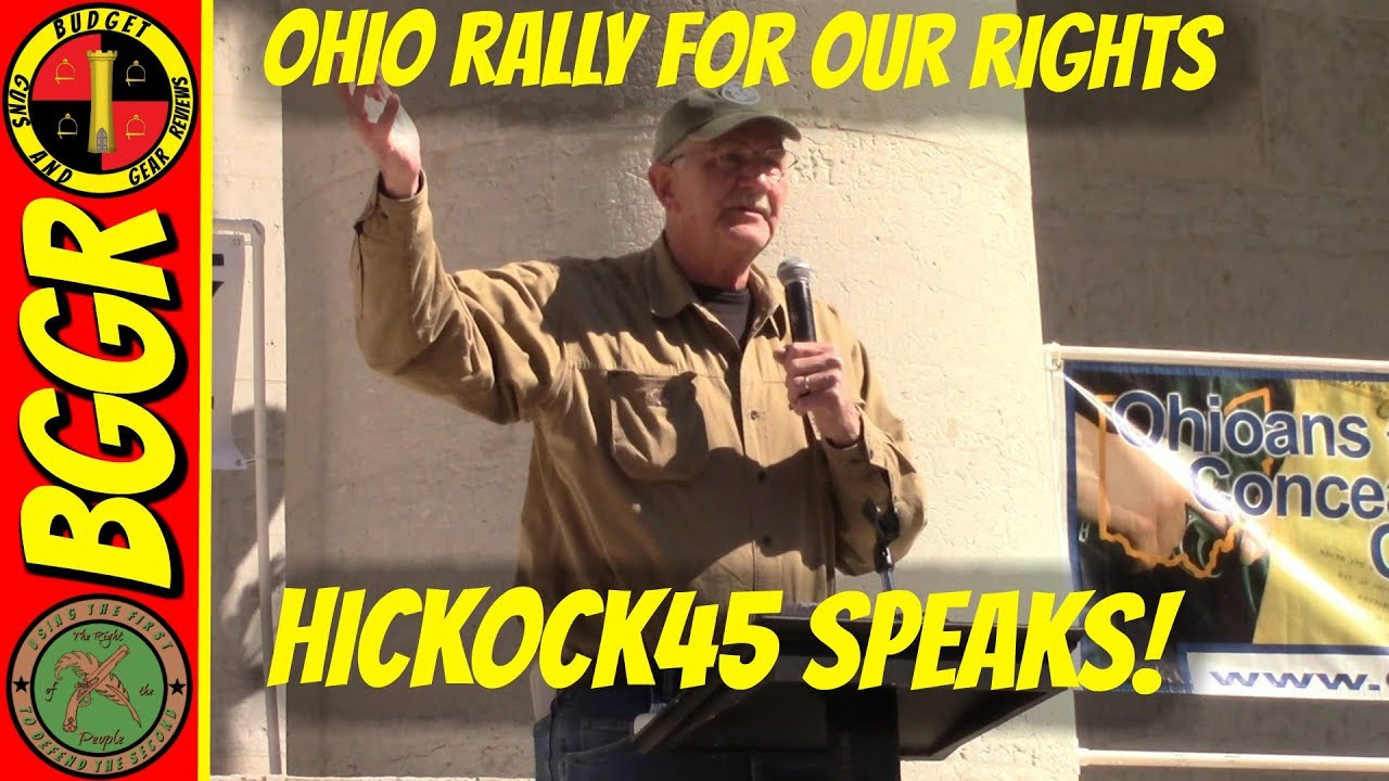 Hickock45 Speaks at the Rally For Our Rights in Ohio- Full Speech!