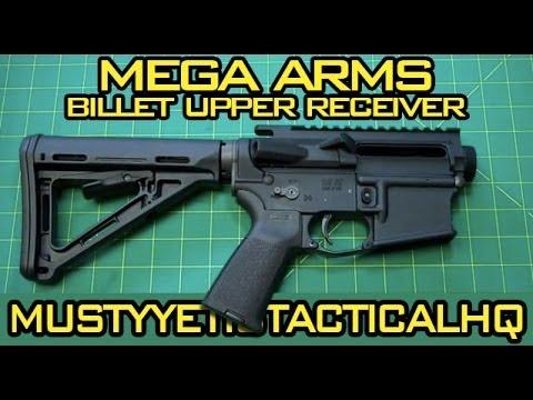 Mega Arms Billet Upper Receiver :: Musty Yeti