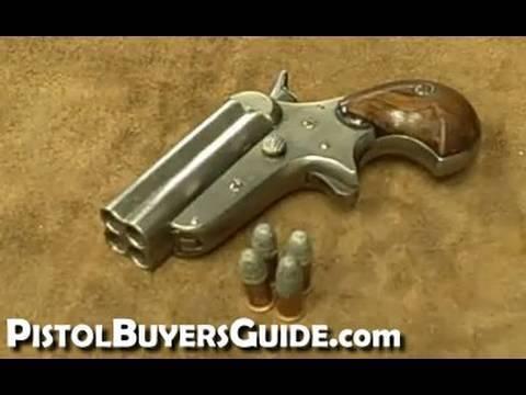 1860 C. Sharps 4-shot Pepperbox - Cool Old West Gun