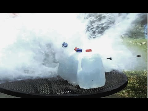 Will it penetrate? 12 gauge slug vs water jugs