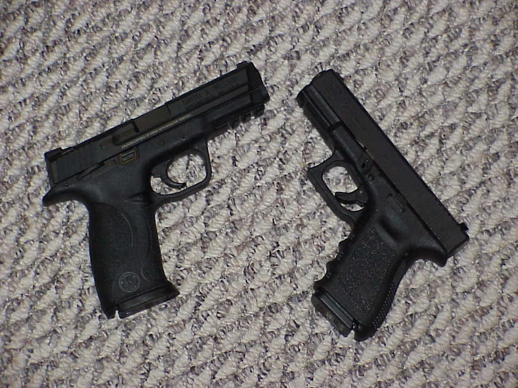 Glock 19 Vs. S&W MP9