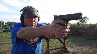 Glock G34 Gen 4 MOS accuracy test and range report.