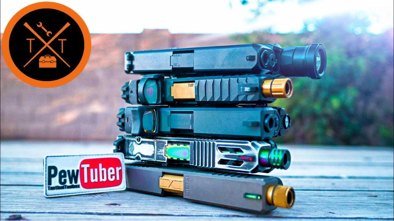 Best Custom Glock Slides // NO LEAD TIMES! (w/Links & Codes)