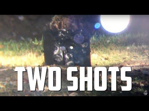 AirForce Texan .357 / AirGunDepot.com Long Ranger 150 Yard Shot in Two Shots