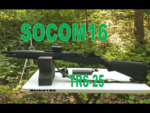 Trying the TRS-25 on the SOCOM 16