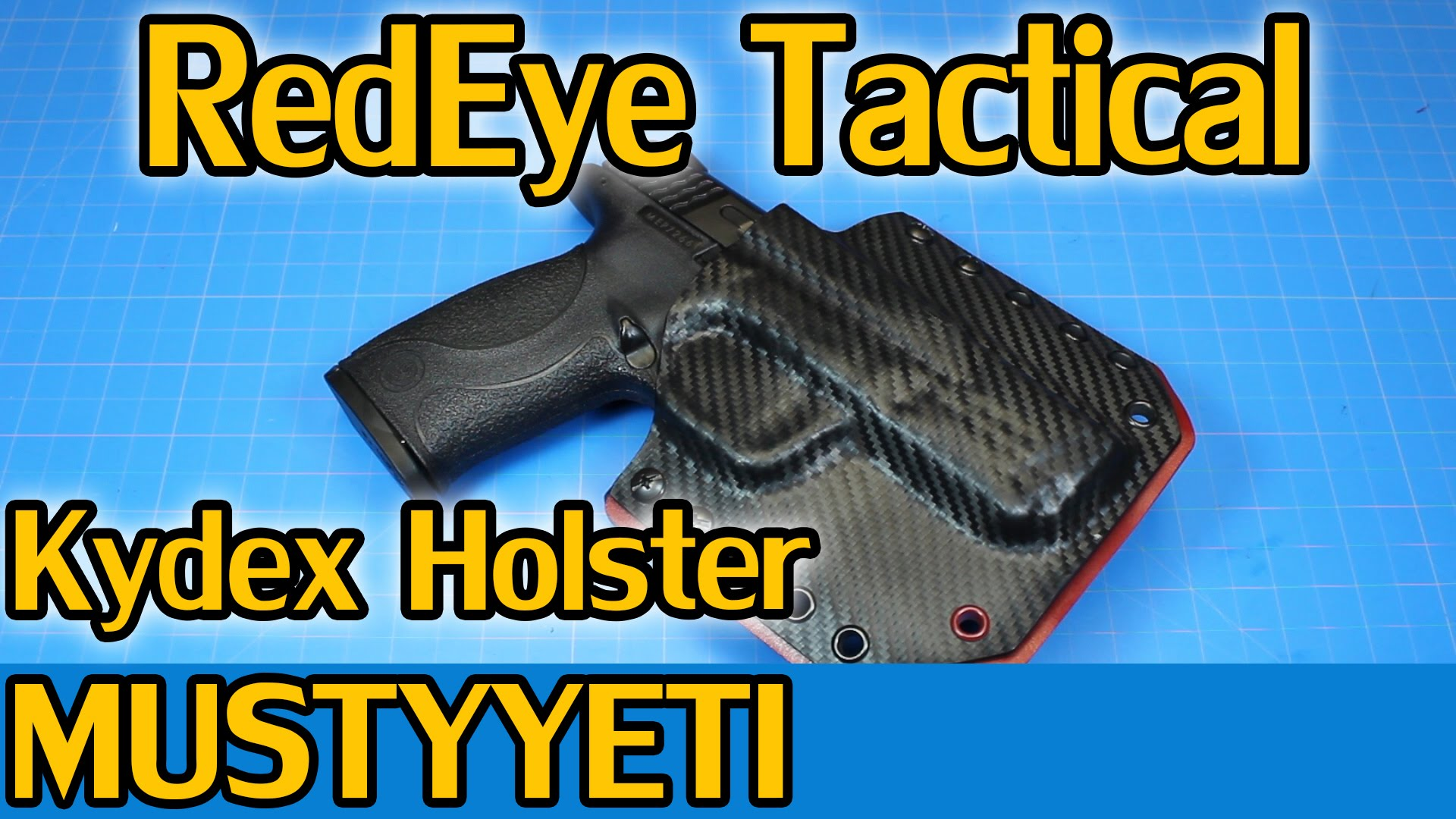 RedEye Tactical Kydex Holster :: Musty Yeti