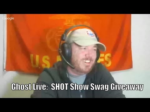 Ghost Live:  Hickock45 is a GIANT, Shot Show Swag, & Best Veteran Charities