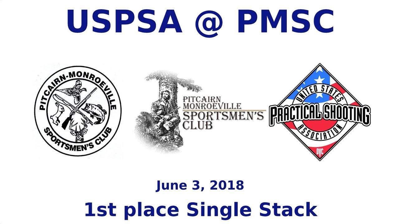 USPSA @ PMSC - June 3, 2018 - Single Stack