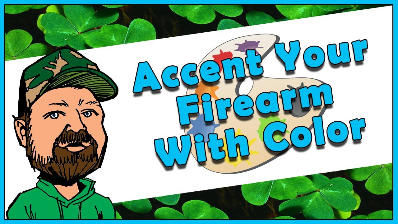 How To Add Color Fill Detail To Accent Any Firearm - Easily Give Your Gun A Little Personal Touch