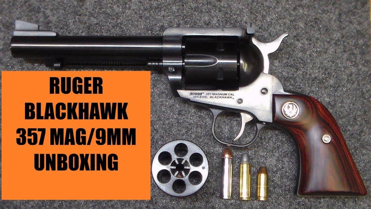 RUGER BLACKHAWK 357 MAG/9 MM REVOLVER - UNBOXING/TEASER