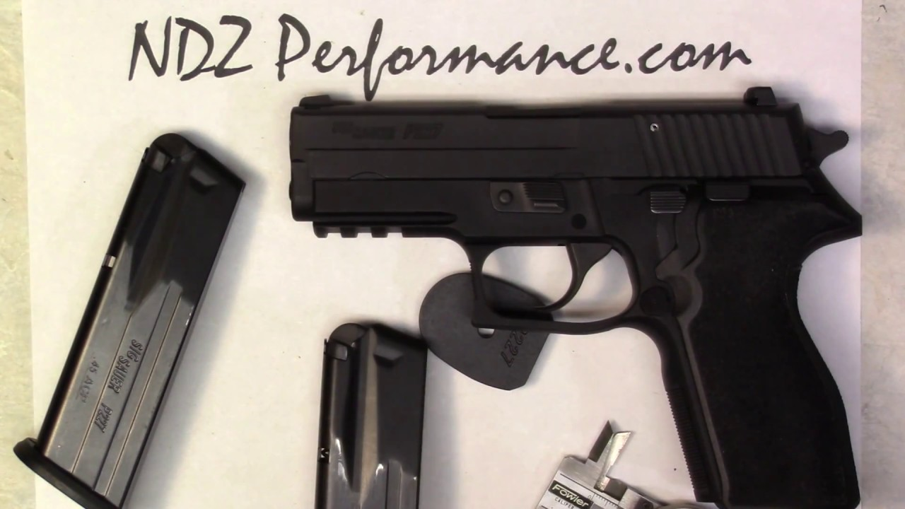 SIG P227 magazine & plate issue - discussed by NDZ