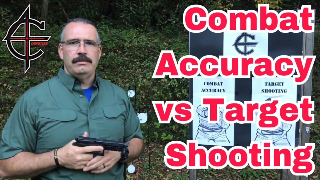 Combat Accuracy vs Target Shooting | CZ P09 9mm