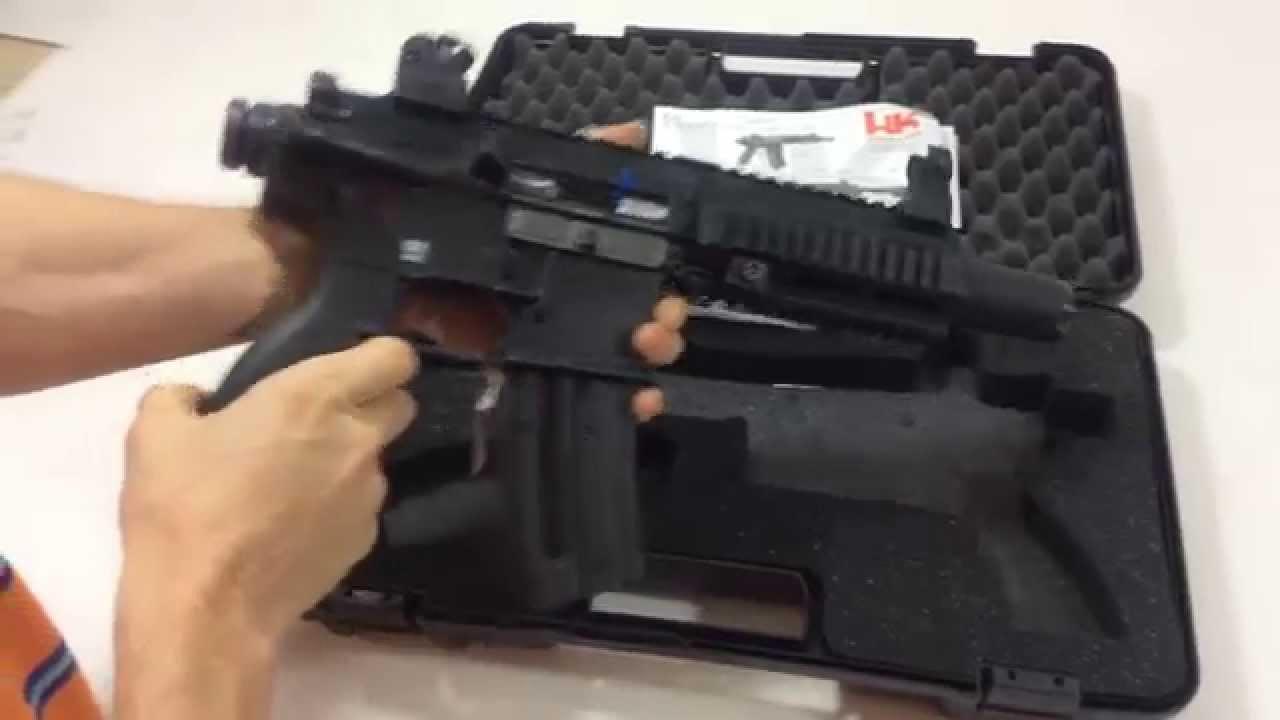 Hk 416 .22 LR Pistol Review (Heckler & Koch)