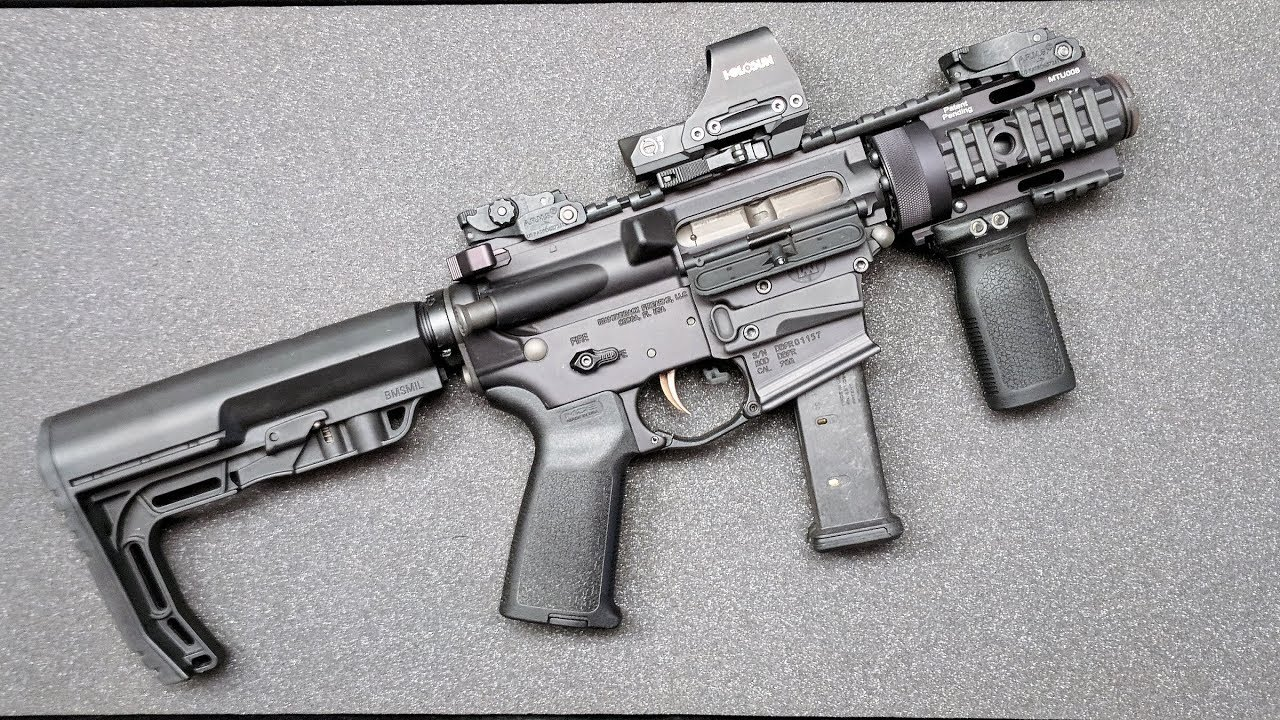 FosTecH Echo - DB9R 9mm AR SBR (3.5