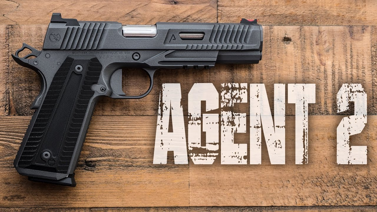 The AGENT 2 Review - Nighthawk Custom / Agency Arms 1911 / REAL USE