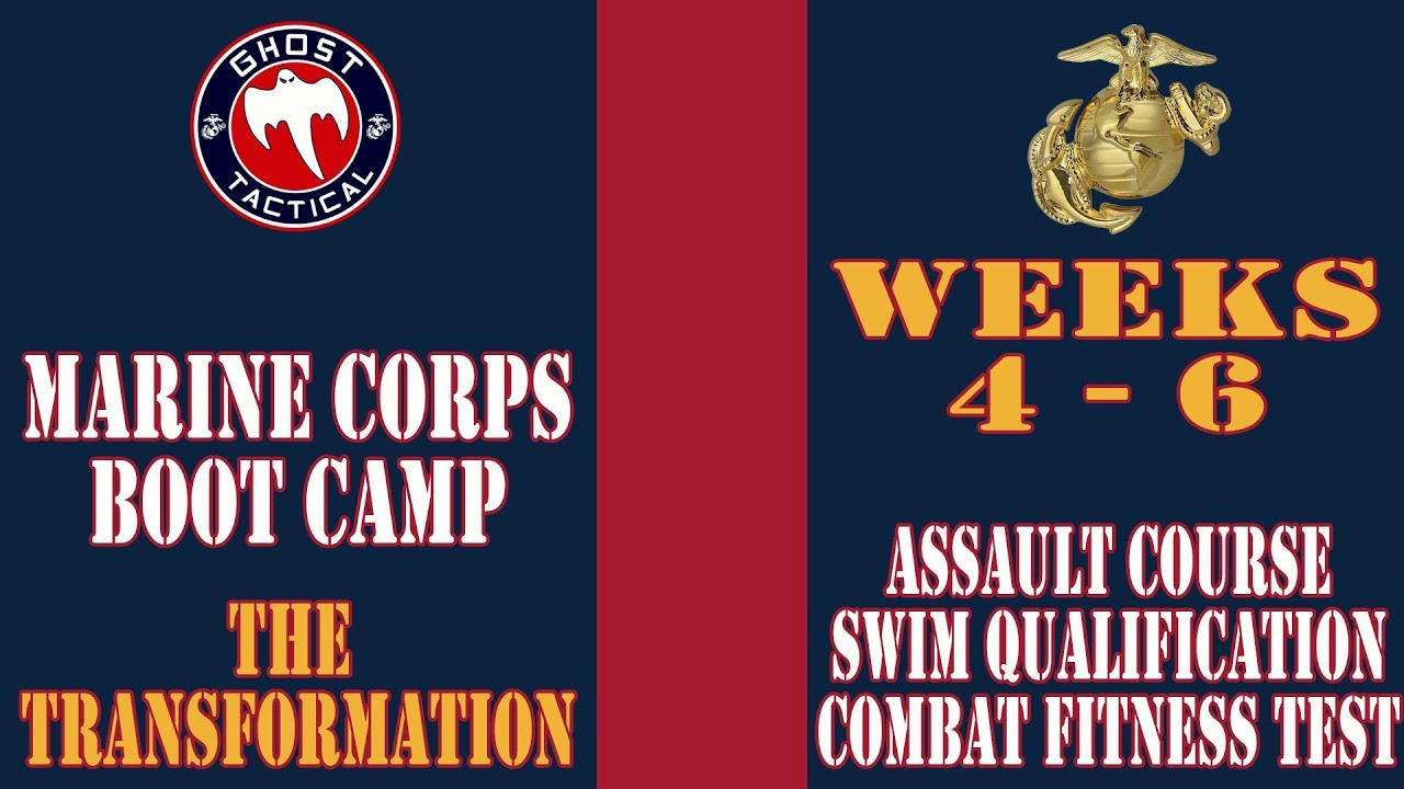 Marine Corps Boot Camp l Weeks 4-6 l Assault Course, Swim Qualification, & Combat Fitness Test