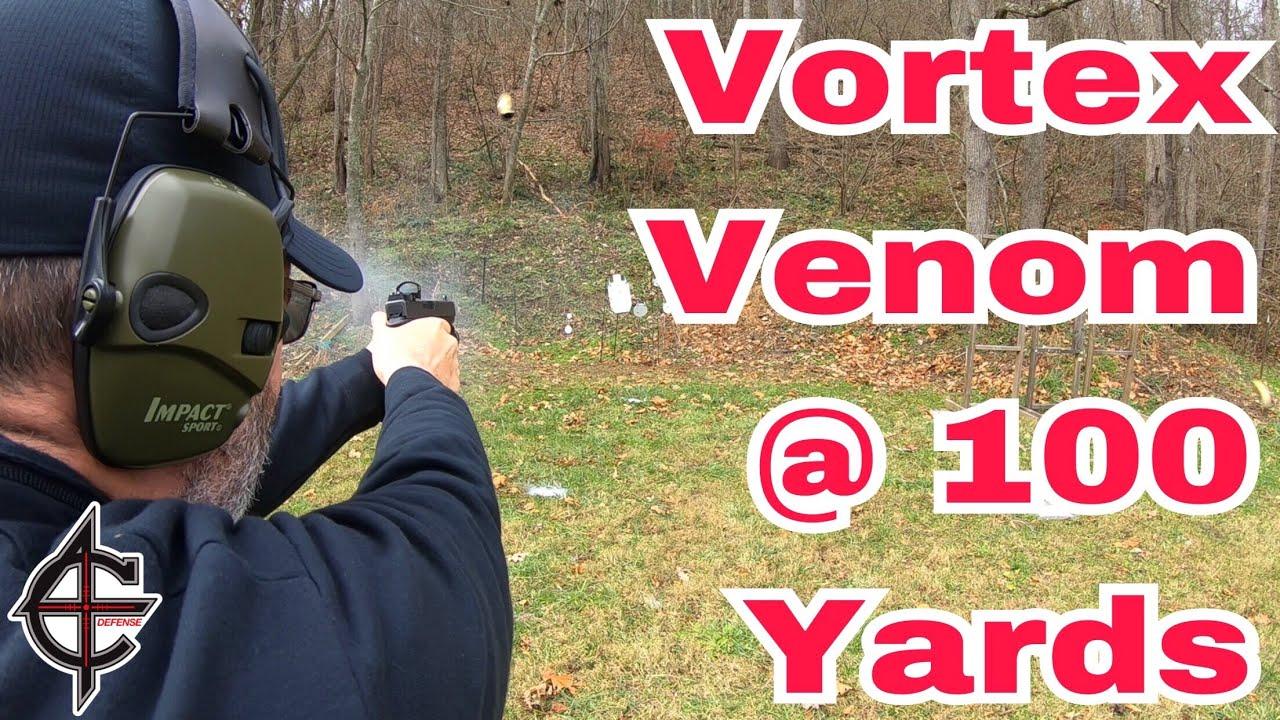 Vortex Venom Red Dot @ 100 Yards