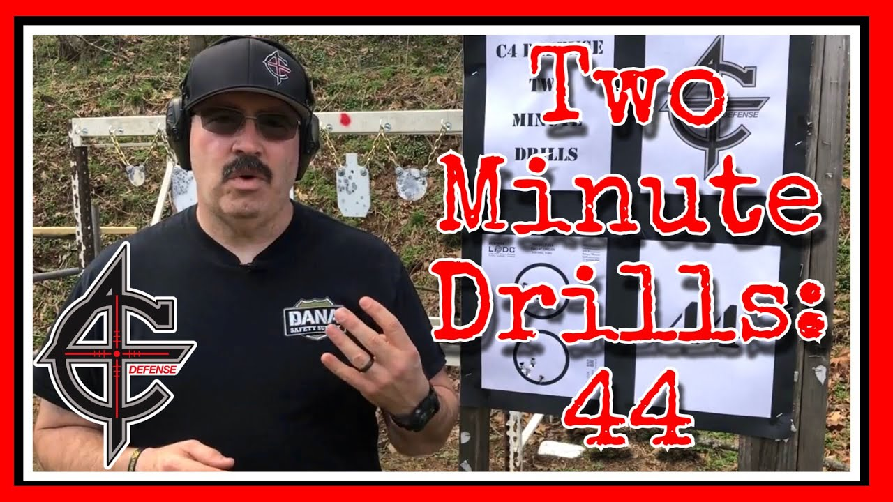 Two Minute Drills: 44 Drill | Glock 30