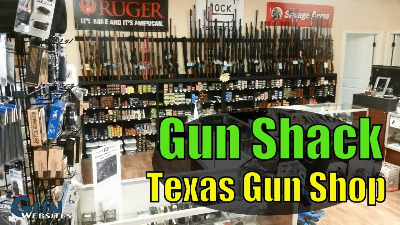 Gun Shack - Texas Gun Shop near San Antonio