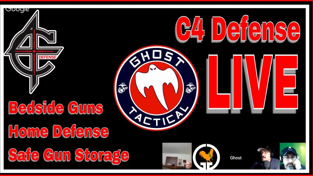 C4 Defense Live | Bedside Guns & Safe Gun Storage