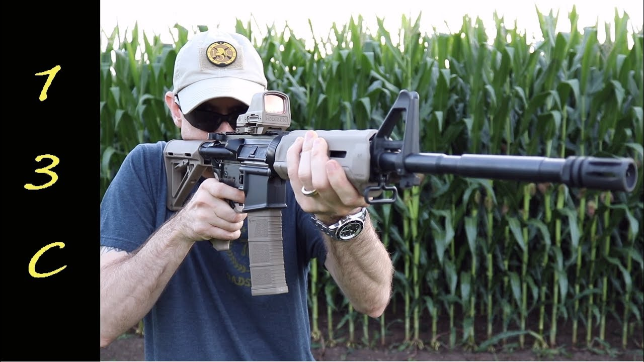 PSA AR-15- Freedom Nitride Upper w/ MOE Lower Reliability and Accuracy review