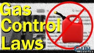 Gas Control Laws - High Capacity Gas Tanks are Responsible for Deaths And Violence