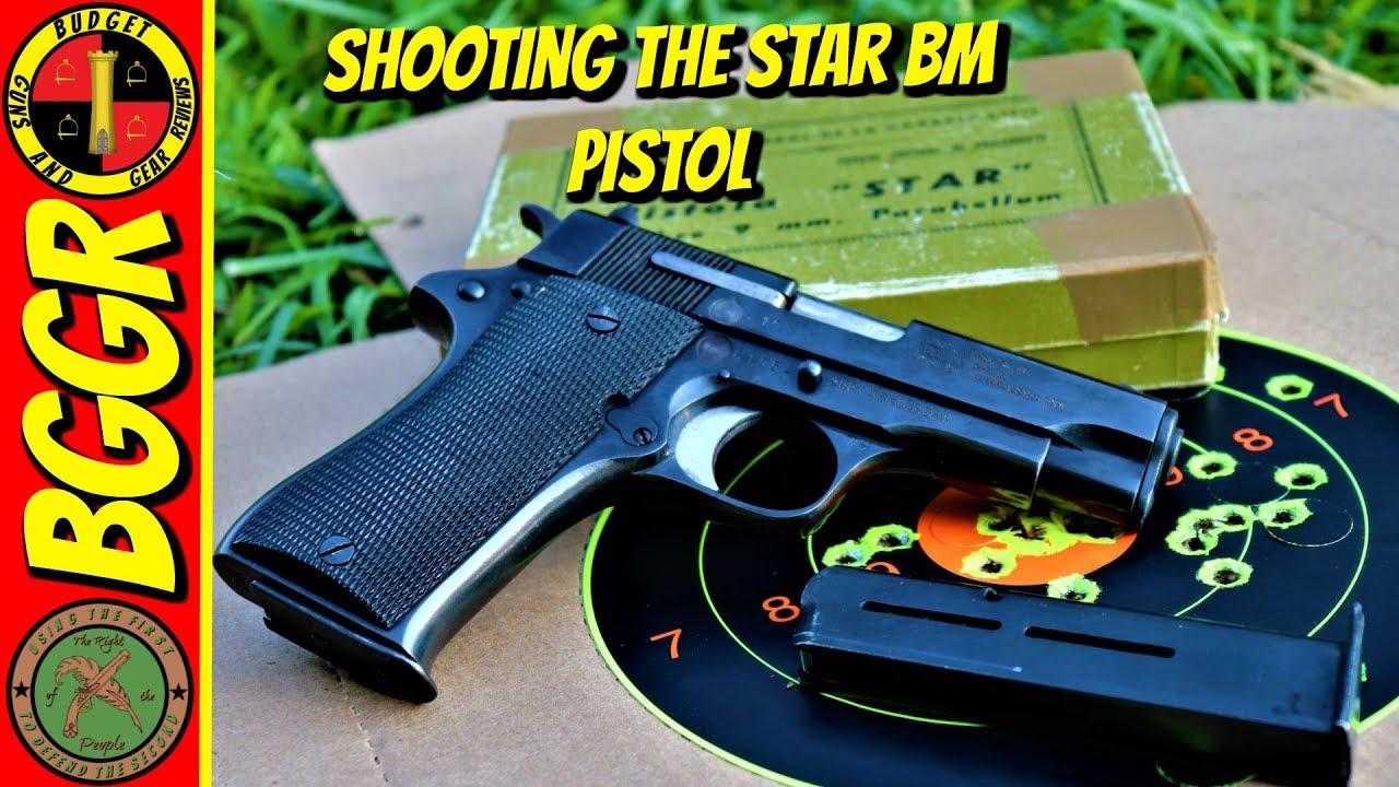 Range Day- Shooting My Star BM Surplus 9mm Pistol